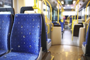 Inside of Bus