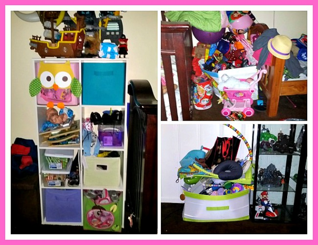 Messy Toys Collage